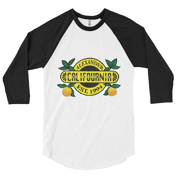 Califournia Baseball Cut Shirt   Alex Ranniello Art