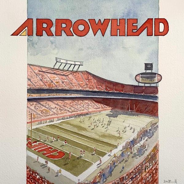 Arrowhead | Limited Edition : 001 100 Art | the | danfinnell | studio