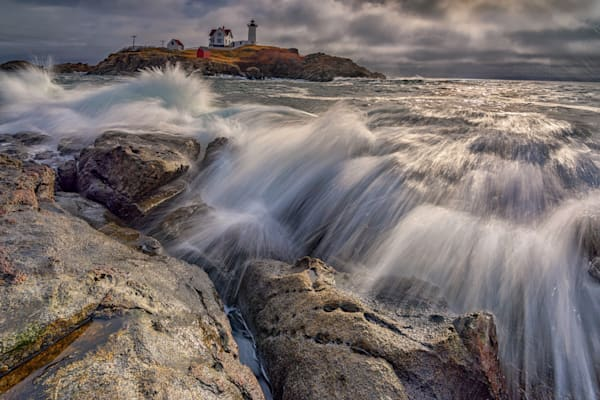 High Tide at Cape Neddick | Shop Photography by Rick Berk