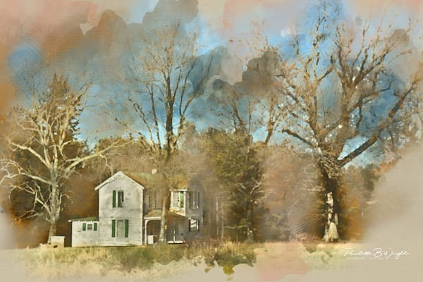 Farmhouse - Gordonsville Digital Painting