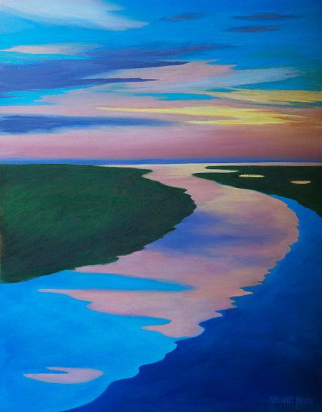 "Peace Like A River 22x28"" Art | Margaret Biggs Fine Art"
