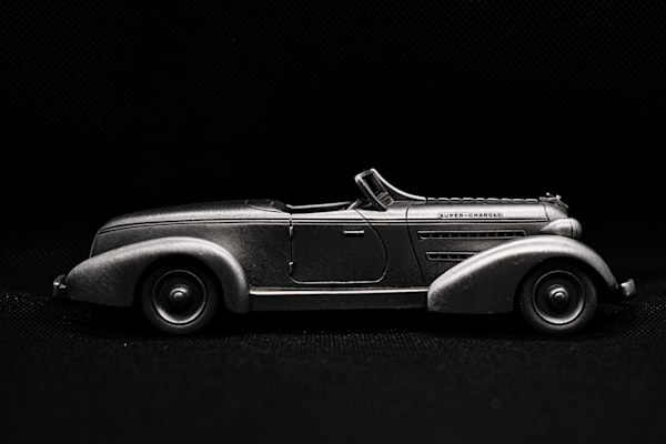 1935 Auburn 851 Speedster In Pewter  by Keith R Wahl, Made From RI Gallery