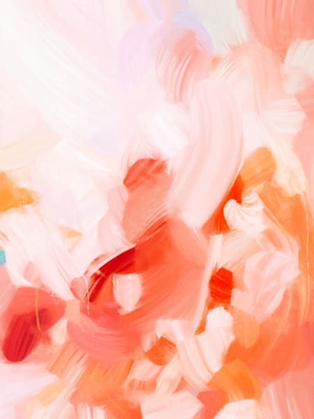 Rosea - Limited edition abstract art print