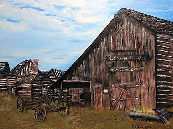 C Perkins   L Ivery Stable Art   Branson West Art Gallery - Mary Phillip