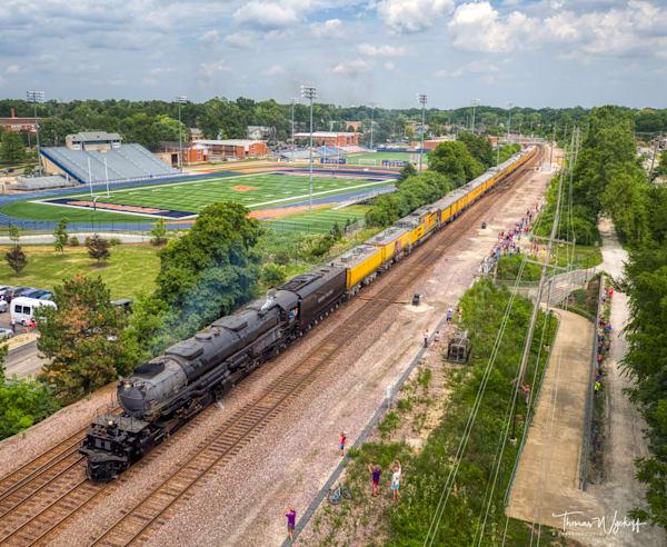 Big Boy Locomotive, 2019. Photograph by Thomas Wyckoff.