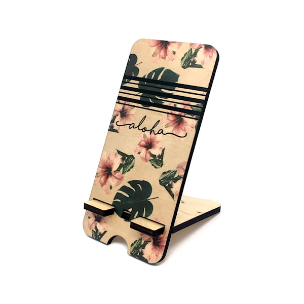 Aloha Hibiscus Phone Stand | Pictures Plus