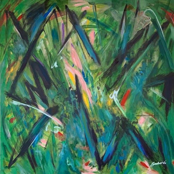art, fine art, oil, acrylic, abstract, green, bold