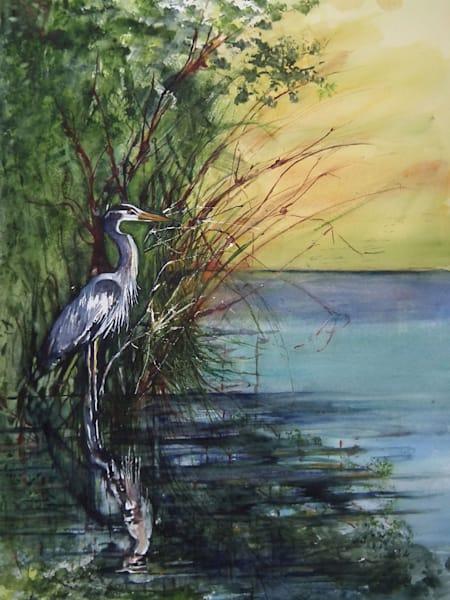 Morning Bird, From an Original Watercolor Painting