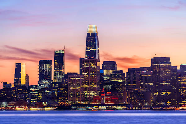 Port of San Francisco Sunset - Cityscape SF | William Drew Photography