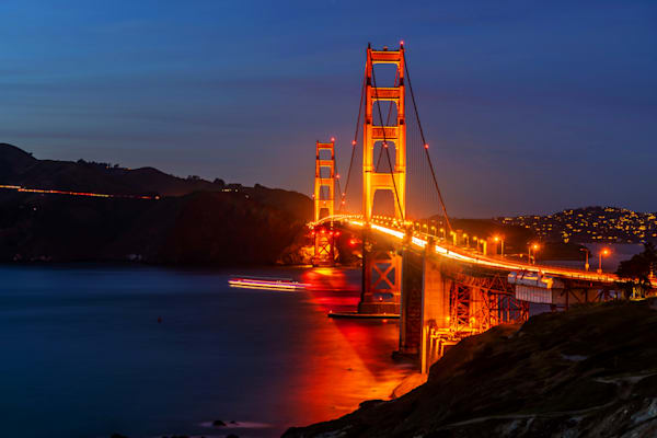 Battery Boutelle View of Golden Gate Bridge - Golden Gate Images