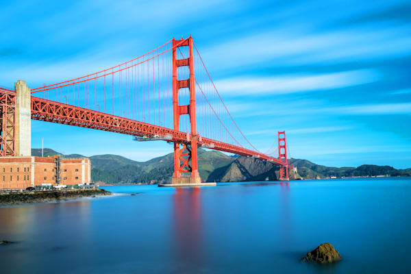 Golden Gate Bridge and Fort Point - Golden Gate Pictures | William Drew