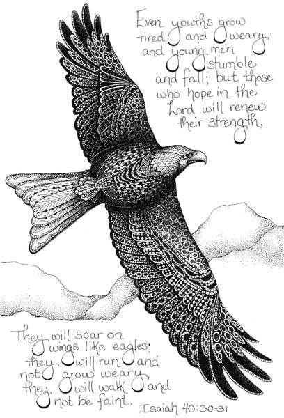 Soaring Eagle- Isaiah 40