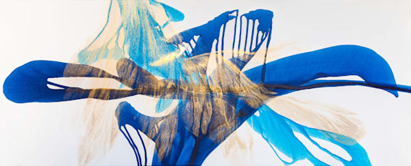 Dancing Under A Sunlit Waterfall Art | Doreen Wulbrecht