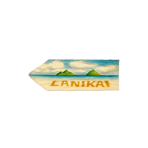 Lanikai Magnet | Pictures Plus