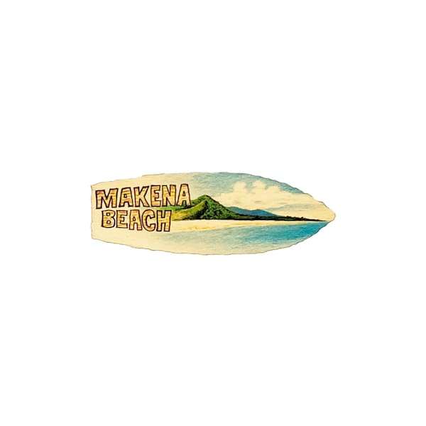 Makena Beach Magnet