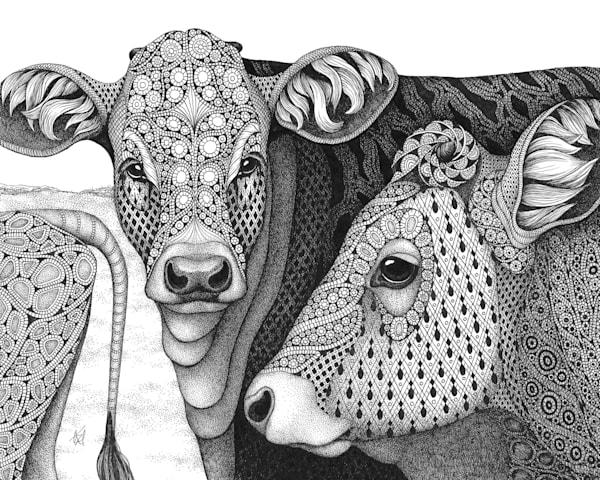"The Herd | Kristin Moger ""Seriously Fun Art"""