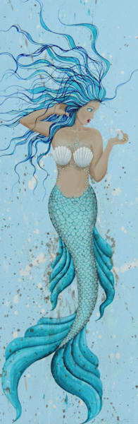 Blue Hair Mermaid