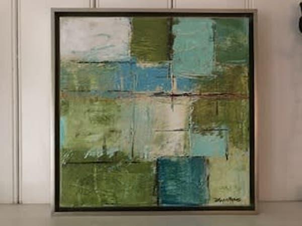 Green Silver Square #1