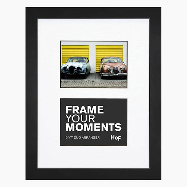 Collage Frame | 5x7 Black & White Duo