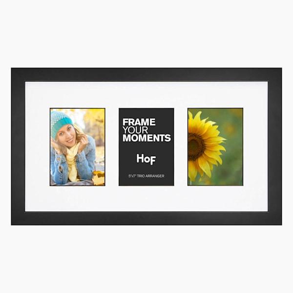 Collage Frame | 5x7 Black & White Trio
