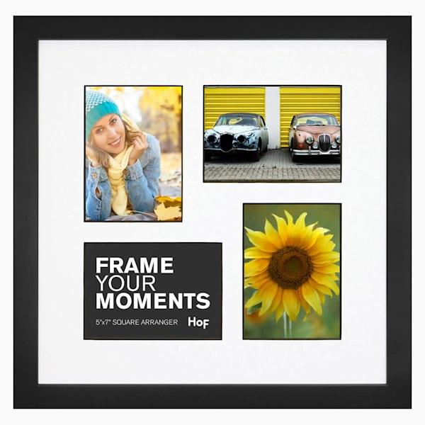 Collage Frame | 5x7 Black & White Square