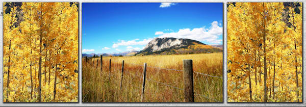 Crested Butte And The Changing Aspens Photography Art | Kristofer Reynolds Photography