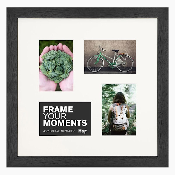 Collage Frame | Coffee & Cream Square