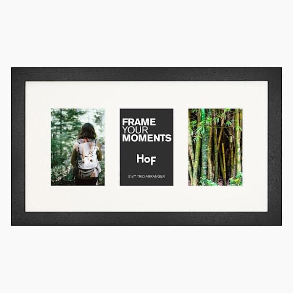 Collage Frame | 5x7 Coffee & Cream Trio