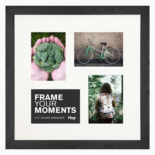 Collage Frame | 5x7 Coffee & Cream Square