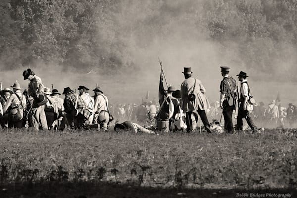 DBridges -Charge of the Confederates-Reenactment