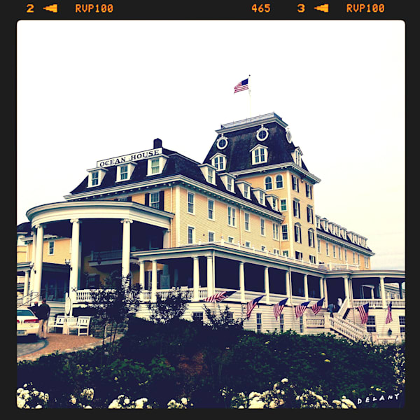 Famous Ocean House Instagram Print by George Delany