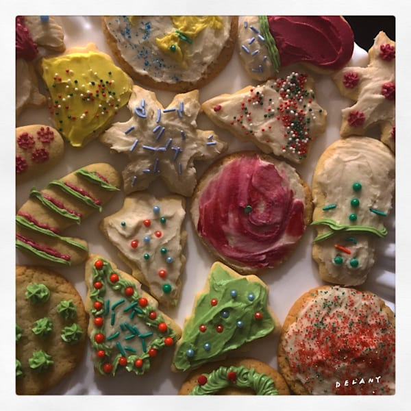 Christmas Cookie Art Instagram