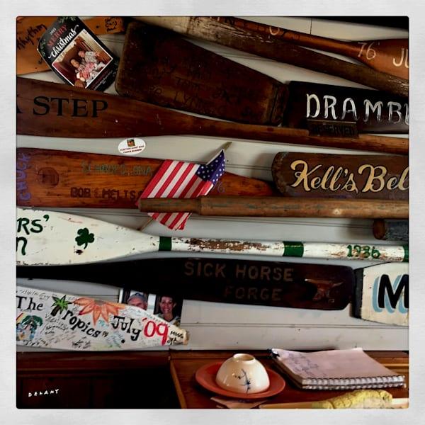 Block Island Oars Instagram Print