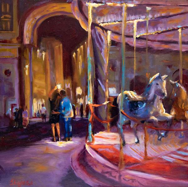 Carousel Art | Jamie Lightfoot, Artist
