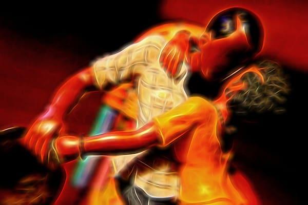 Falling Into Rhythm   [Exhibited Edition] Art   Christopher J Wesley's Artistic Agenda