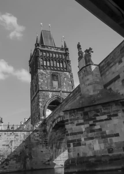 Under Charles Bridge (Karluv most), Vltava River, Prague, Czechia