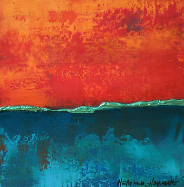 Equally Intense - original painting