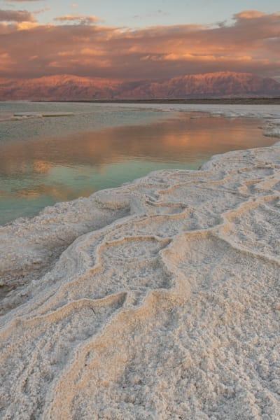 Dead sea sunrise one