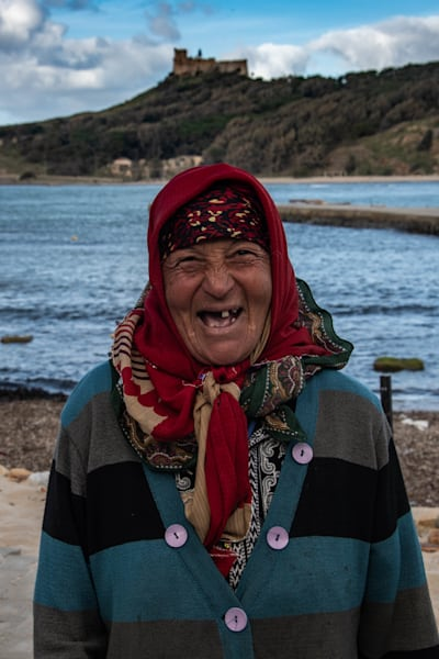 Tunisian smile