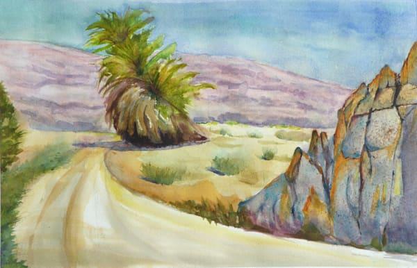 Giant Palm In The Desert Art | Limor Dekel Fine Art