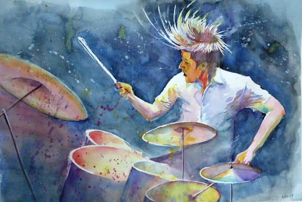 The Drummer Art | Limor Dekel Fine Art
