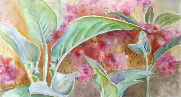 Leaves And Flowers Art | Limor Dekel Fine Art