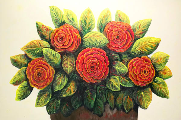 MPhillip-Five Flowers