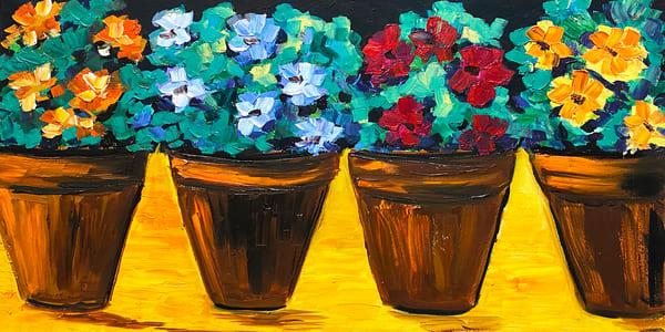 JWoods-4-Four-Flower-Pots