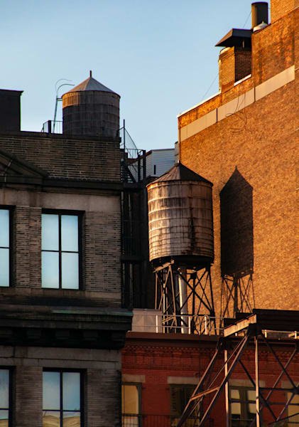 Chelsea Water Towers, Nyc Photography Art   Ben Asen Photography