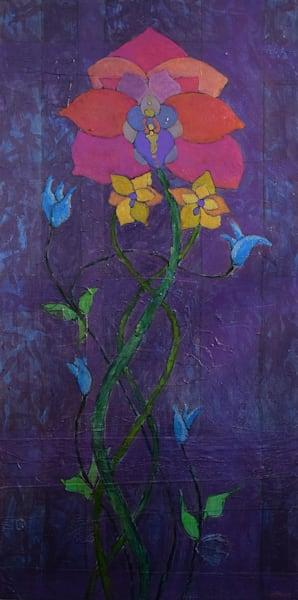 Orchid in a Purple Haze