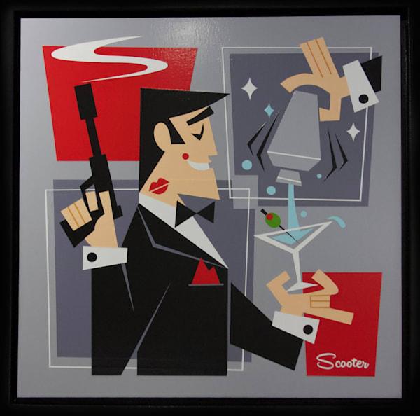 """Shaken Not Stirred"" Art | Art of Scooter"
