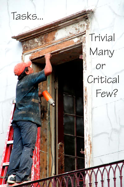 Trivial Many Or Critical Few