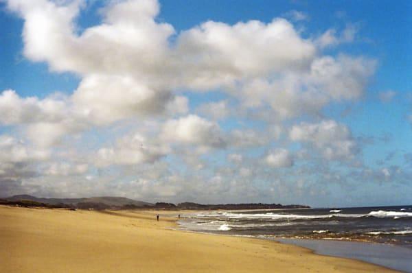 Half Moon Bay Beach And Clouds Photography Art | David Louis Klein