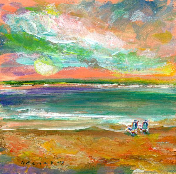 Florida Beach Day Art Print
